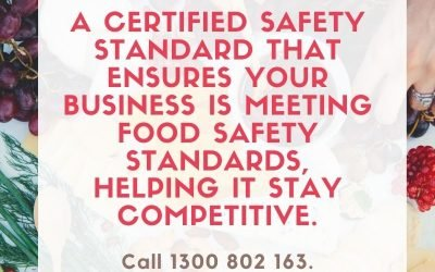 The Key Recipe for Food Safety is Preparation.